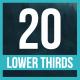 Simple Clean Lower Thirds