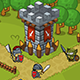Tower Defense Game Set Knight