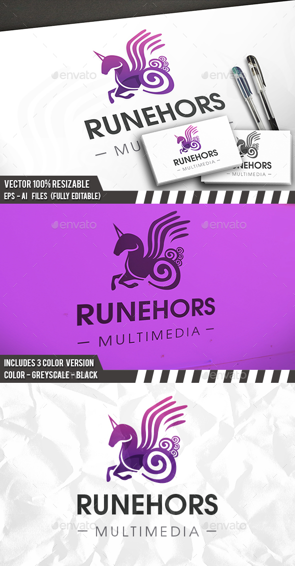 Runic Unicorn Logo