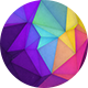 Colorful Polygon Backgrounds Vol.2