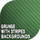 10 Grunge with Stripes Backgrounds