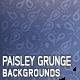 10 Paisley Grunge Backgrounds