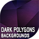 10 Dark Polygons Backgrounds