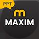 Maxim Premium Presentation Template