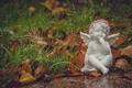 Tiny baby angel figure