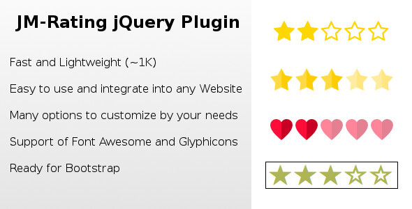 JM-Rating jQuery Plugin