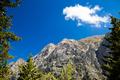 Mountains landscape, Samaria Gorge in Crete Greece