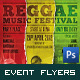 Music Event Flyer/Poster - GraphicRiver Item for Sale