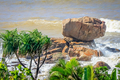 Stunning rocky coastline of Madagascar