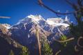 Alpine landscape of Tibet