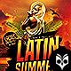 Latin Summer Nights Flyer Template PSD