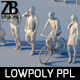 Lowpoly people