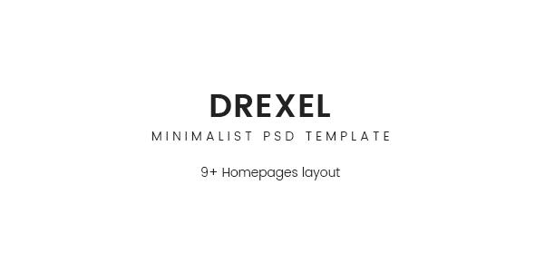 Drexel - PSD Ecommerce Templates
