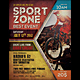 Sport Zone Event Flyer / Poster