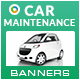 Car Maintenance Banners