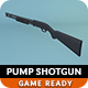 Low Poly Pump Shotgun