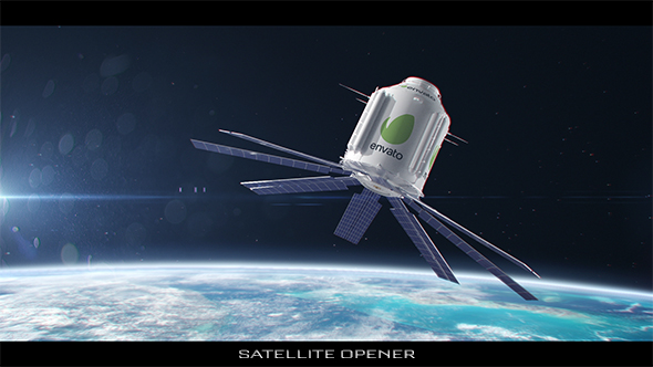 VideoHive Satellite Opener 20031660
