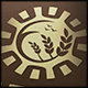 Sun Wheat Grow Logo