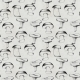 Hand Drawn Seamless Pattern with Mushrooms
