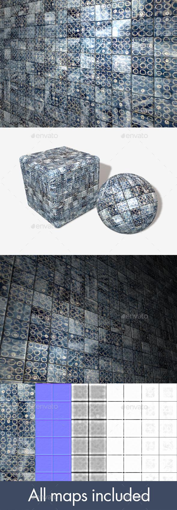 3DOcean Modern Patterned Tiles Seamless 20032548