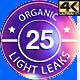 25 Light Leaks Grunge 4K