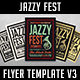 Jazzy Fest Flyer Template V3