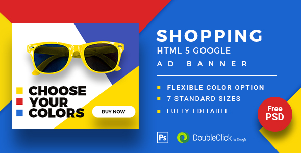 Download Shopping - HTML5 Animated Banner 20 Advance