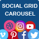 Social Stream Post Type – Grid and Carousel for WordPress (Social Networking)