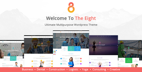 The8 - Corporate, Business WordPress theme