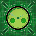 Poster - Chronometer In The Style Of Steampunk On An Abstract Background. - PhotoDune Item for Sale