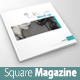 Square Magazine/catalog Mock-up