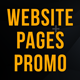 Website Pages Promo