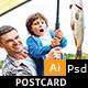 Fishing Equipment Store Post Card