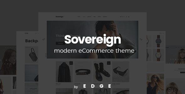 Sovereign - A Modern, Minimalistic Shop Theme