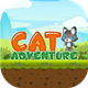 Cat Adventure - iOS Platformer Game with Admob