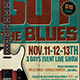 Blues Festival Flyer Template V1