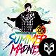 Summer Madness Flyer Template PSD