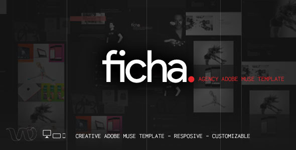Ficha creative muse template