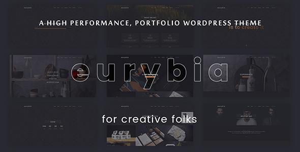 Download Eurybia - Creative Portfolio WP Theme