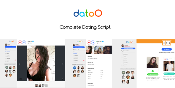 100 Fake Users for Datoo (Add-ons) images