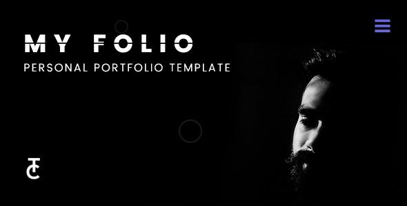 Myfolio - A Personal Portfolio Template