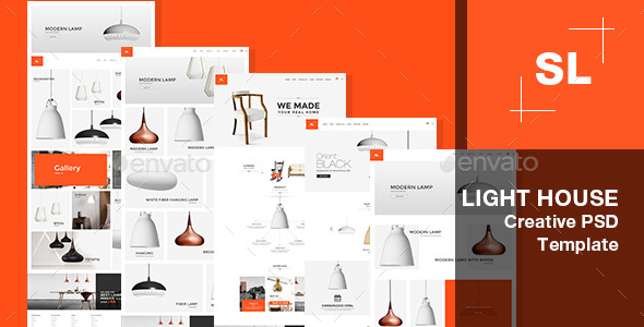 UI Kits iNine Menu Navigation Web Design - 04 PSD (User Interfaces)