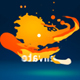 Dynamic Fluid Stroke Logo Reveal