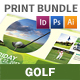 Golf Print Bundle 6