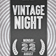 Vintage Night Party
