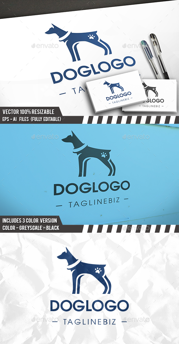 Dog Pet Logo