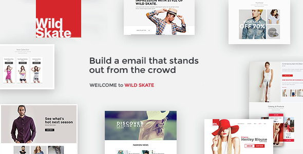 Fashion - Responsive Email Template
