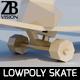 Lowpoly Skateboard