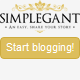 New Simplegant - A Responsive Blogger Blog Theme