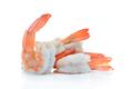 shrimps,prawns isolated